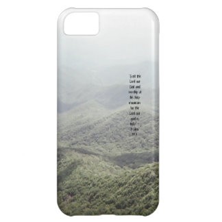 Psalm 99:9 iPhone 5C cover