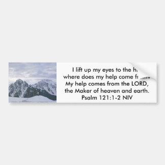 Psalm Bumper Sticker