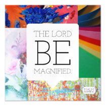 Psalm chapter 40 magnetic card
