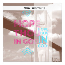 Psalm chapter 42 magnetic card