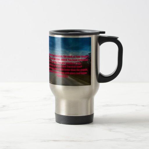 Psalm Inspirational Verses Coffee Mug