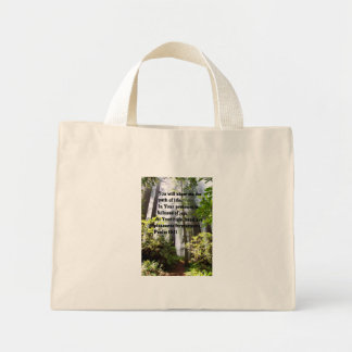 Psalm Path of Life Bible Tote bag