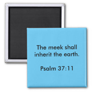 Psalm Quote Magnet
