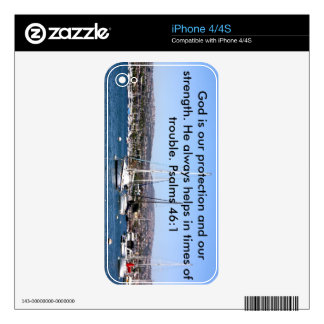 Psalm Skin iPhone4/s4 Skin For The iPhone 4