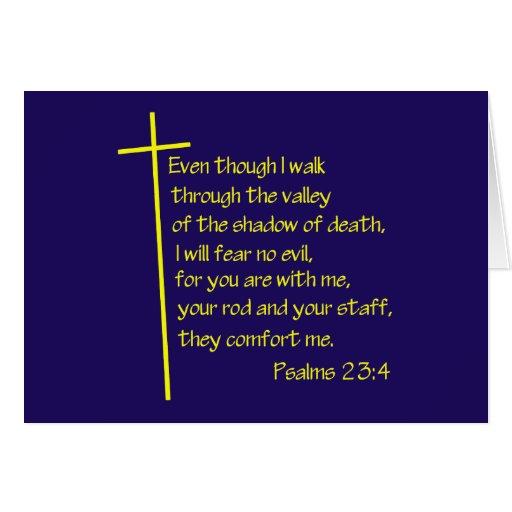 Psalms23-4 Yellow Cards