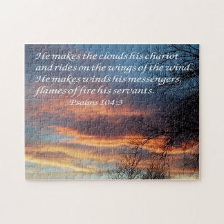 Psalms 104:3 jigsaw puzzle
