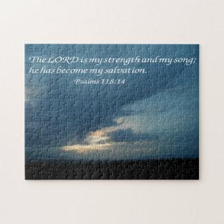 Psalms 118:14 puzzle