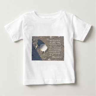 Psalms 139: 17-18, Shell Version Baby T-Shirt