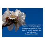 Psalms 19:14 poster