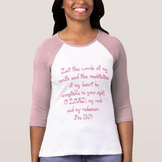 Psalms 19:14 t-shirt