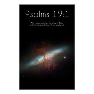 Psalms 19:1 Poster