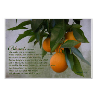Psalms 1:1-3 Scripture Print