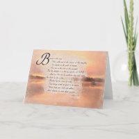 Psalms 1:1 Bible Verse Inspirational Card