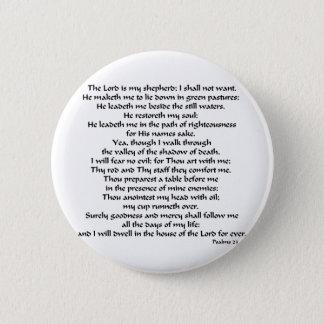 Psalms 23 button