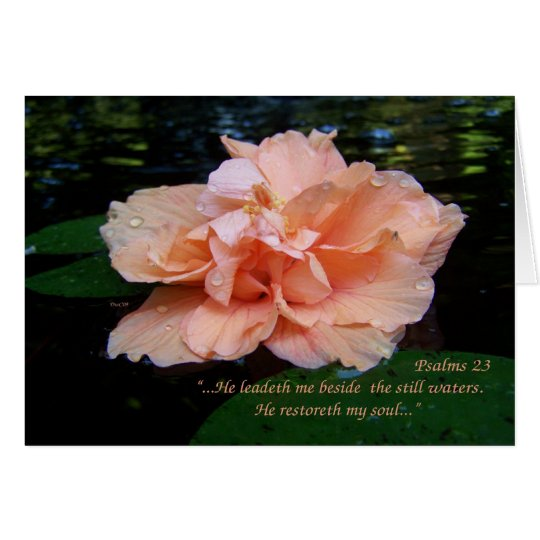 Psalms 23 Card