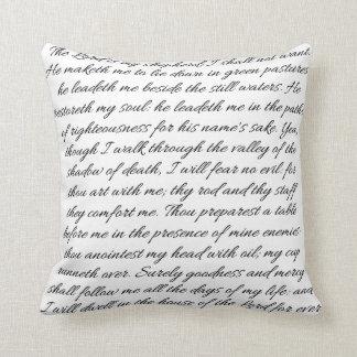 Psalms 23 Pillow