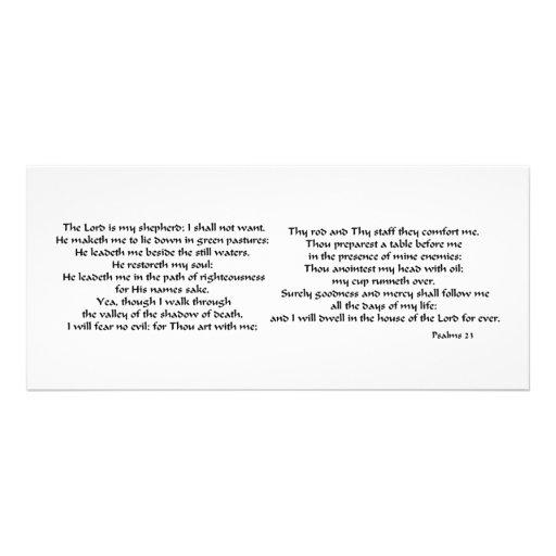 Psalms 23 rack card