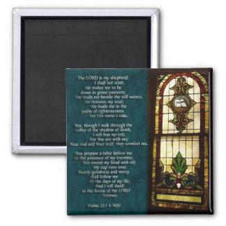 Psalms 23 refrigerator magnet