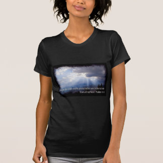Psalms 34:4 on dark t shirts