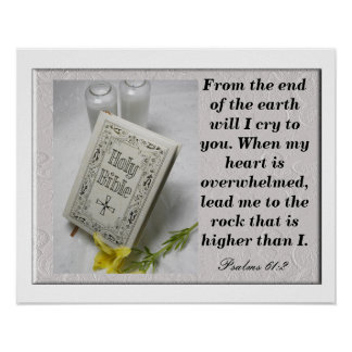 Psalms 61:2 print