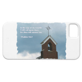 Psalms 86:7 Country Church Steeple Cross iPhone SE/5/5s Case