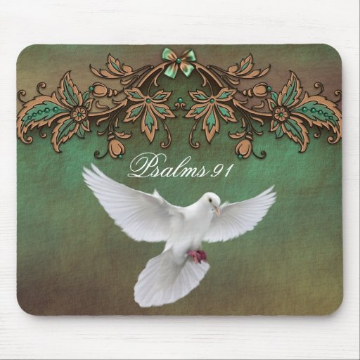 Psalms 91 Dove 2  Mousepad