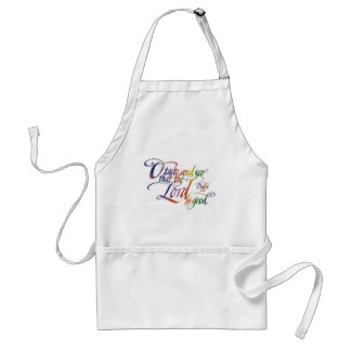 Psalms Apron