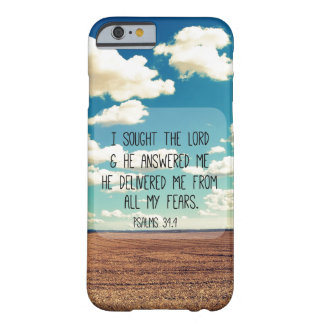 Psalms Bible Verse Barely There iPhone 6 Case