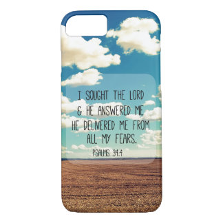 Psalms Bible Verse iPhone 7 Case