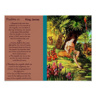 Psalms chapter 01 Posters 5