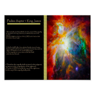 Psalms chapter 01 Posters 6