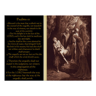 Psalms chapter 01 Posters 7