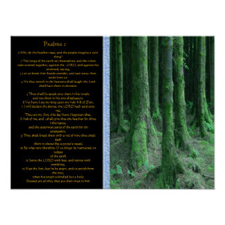 Psalms chapter 02 Posters 1