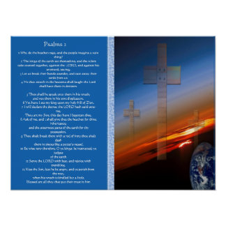 Psalms chapter 02 Posters 2