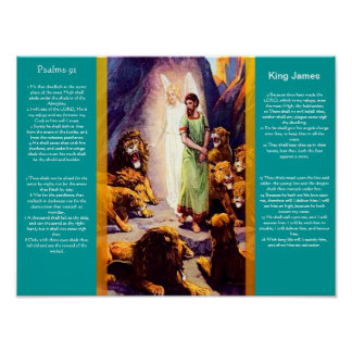Psalms chapter 91 Posters 9