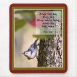 Psalms - Nuthatch Mousepad