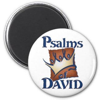 Psalms of David 2 Inch Round Magnet
