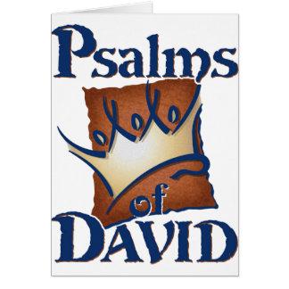 Psalms of David Card