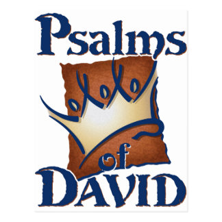 Psalms of David Postcard