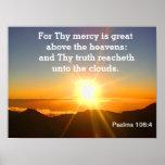 Psalms -scripture print