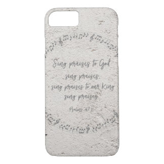 Psalms: Sing Praises to God iPhone 8/7 Case