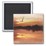 Psalms & Sunsets, Bible Verse Inspirationals Magnets