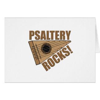 Psaltery Rocks! Greeting Card