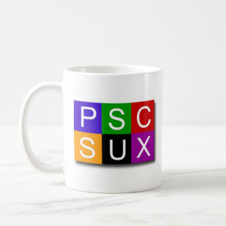 PSC SUX Classic White Mug