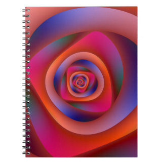 Pschedelic Spiral Labyrinth Notebook