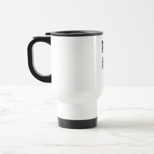 PSD travel mug