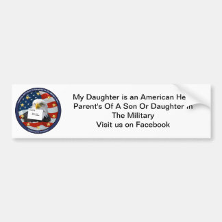 PSDM Bumper Sticker - Daughter Car Bumper Sticker