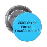 Pseudo intelectual CERTIFICADO Pin