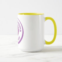Pseudomyxoma Survivor large ringer mug