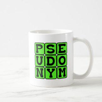 Pseudonym, Alias Classic White Coffee Mug